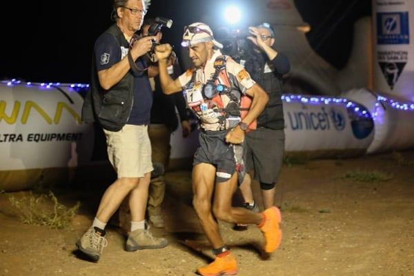 2015 Marathon des Sables - Stage 4 - Rachid El Morabity