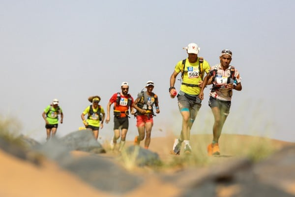 2015 Marathon des Sables - Stage 3 - Many of the Mens Leaders