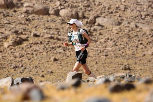 2015 Marathon des Sables - Stage 3 - Elisabet Barnes