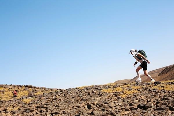 2015 Marathon des Sables - Stage 2 - Elisabet Barnes
