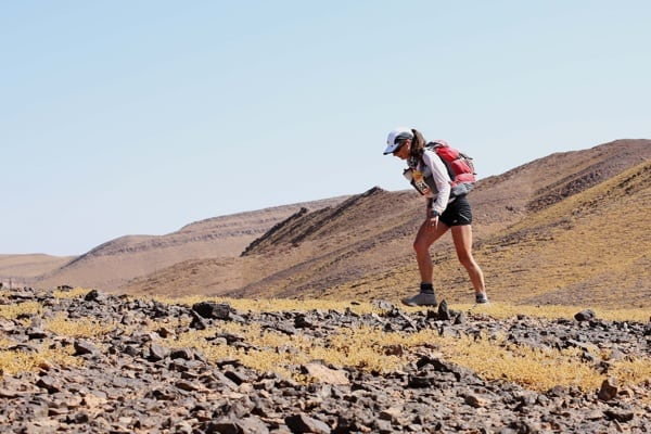 2015 Marathon des Sables - Stage 2 - Liza Howard