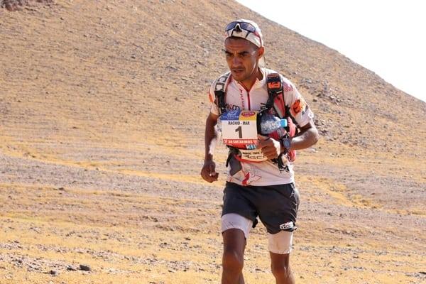 2015 Marathon des Sables - Stage 2 - Rachid El Morabity