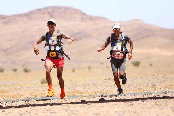2015 Marathon des Sables - Stage 1 - Samir Akhdar - Mohamad Ahansal