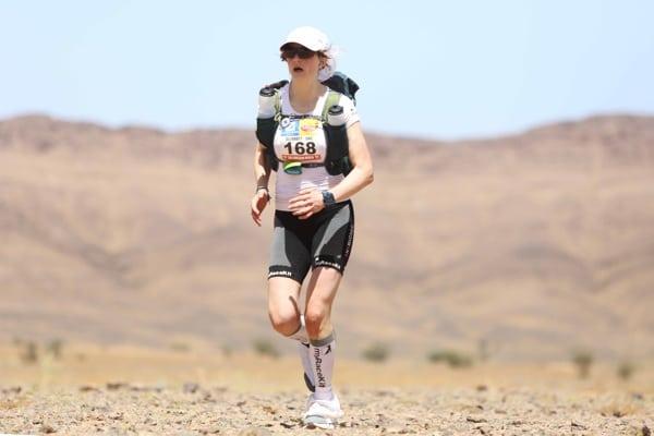 2015 Marathon des Sables - Stage 1 - Elisabet Barnes
