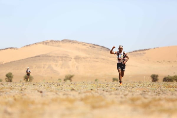 2015 Marathon des Sables - Stage 1 - Rachid El Morabity