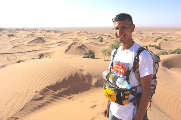 Samir Akhdar - 2015 Marathon des Sables training