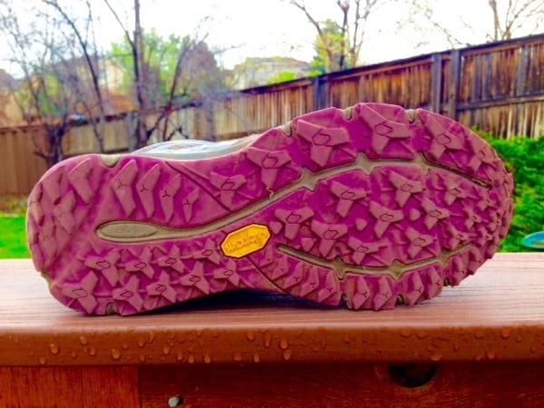 The North Face Ultra Cardiac outsole