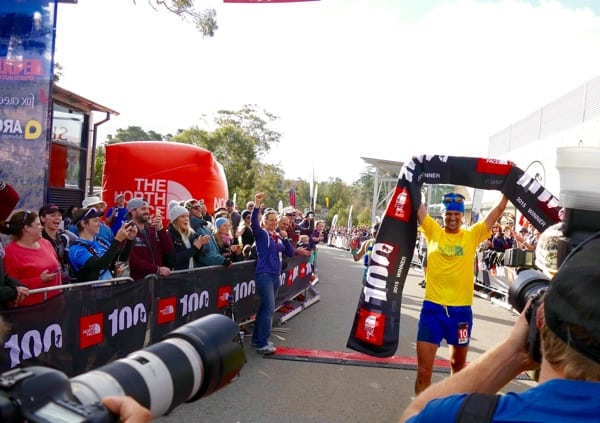 Dylan Bowman - 2015 The North Face 100k-Australia