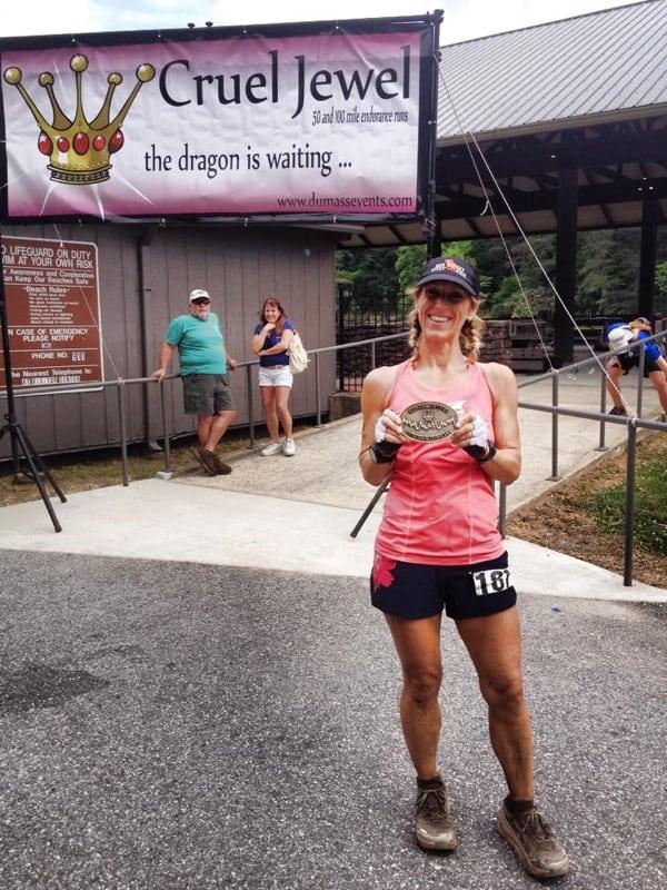Angela Shartel - 2015 Cruel Jewel 100 Mile