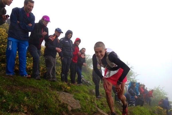 Federica Boifava - 2015 Zegama Marathon