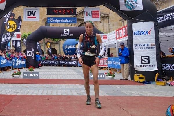 Paula Cabrerizo - 2015 Zegama Marathon