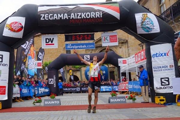 Pere Rullan - 2015 Zegama Marathon
