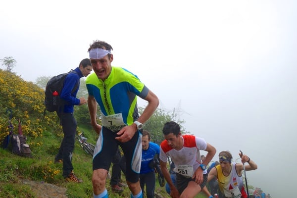 2015 Zegama Marathon - Tadei Pivk - Kilian Jornet - Pere Rullan