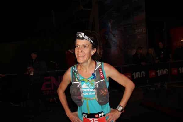 Amy Sproston - 2015 The North Face 100k-Australia second place