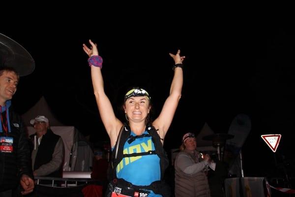 Shona Stephenson - 2015 The North Face 100k-Australia third place