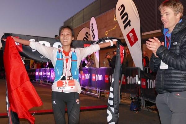 Dong Li - 2015 The North Face 100k-Australia champion