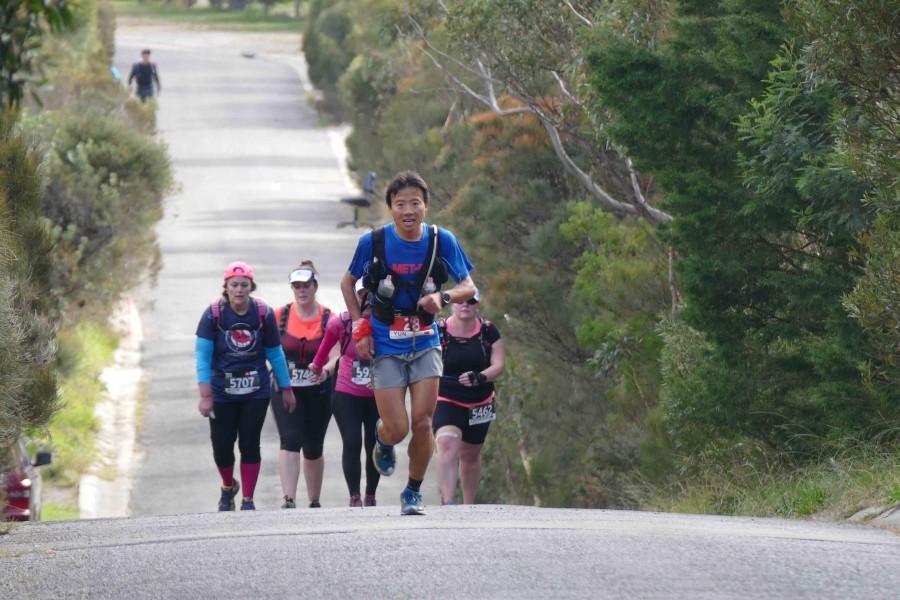 Yun Yan-Qiao - 2015 The North Face 100k-Australia third place