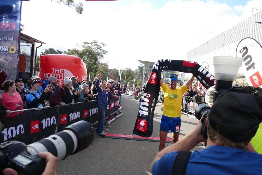 Dylan Bowman - 2015 The North Face 100k-Australia champion