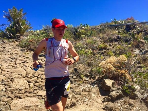 Blake Hose - 2015 Transvulcania third place