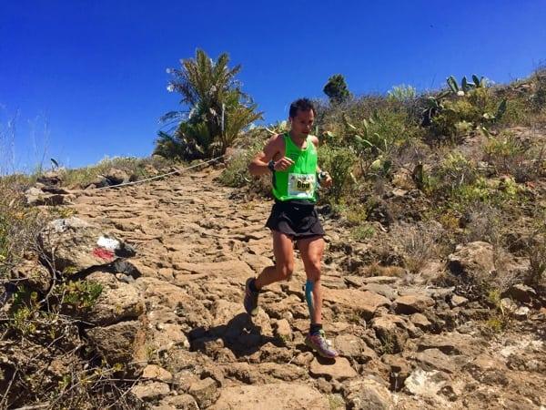 Dani Garcia - 2015 Transvulcania second place