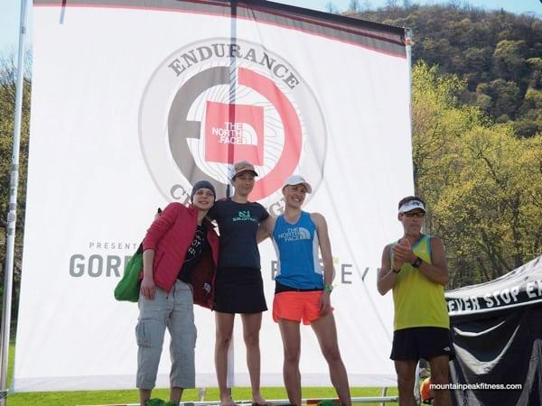 Women's podium - 2015 The North Face Endurance Challenge Bear Mountain 50 Mile
