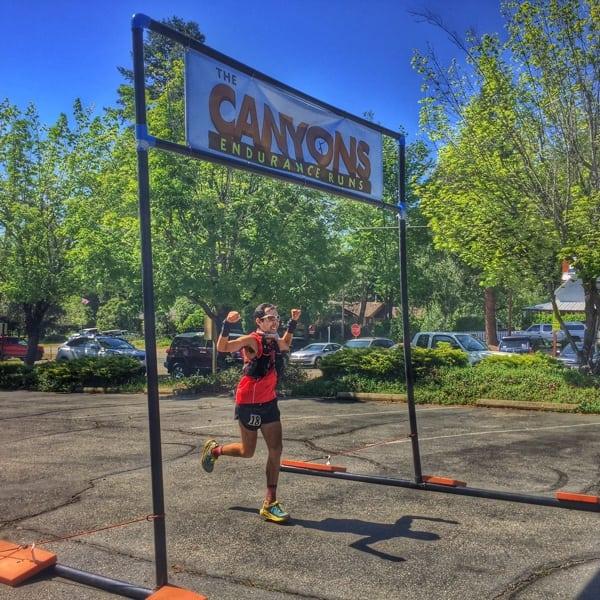 Fernando De Samaniego Steta - 2015 Canyons 100k second place