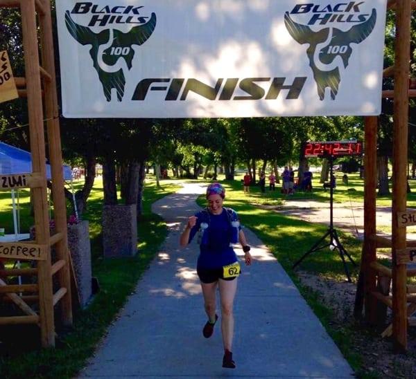 Mallory Richard - 2015 Black Hills 100 Mile champion