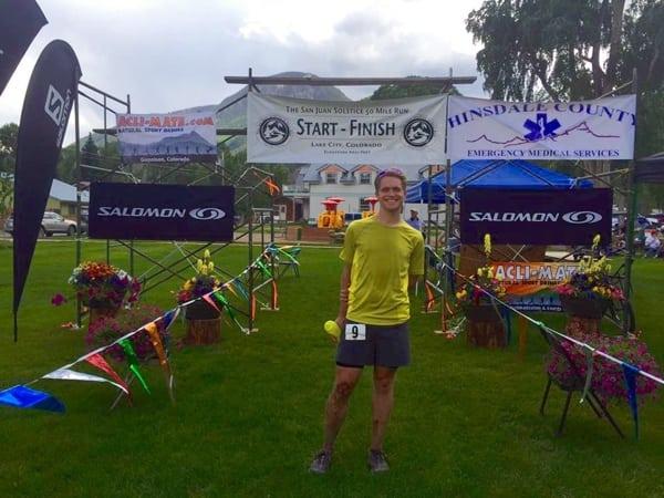 Michael Barlow - 2015 San Juan Solstice 50 Mile champion