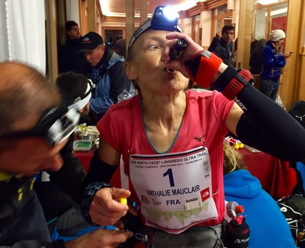 Nathalie Mauclair - 2015 Lavaredo Ultra Trail second place