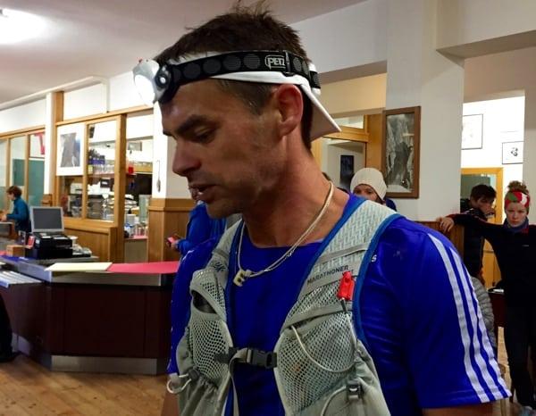 Erik Clavery - 2015 Lavaredo Ultra Trail second place