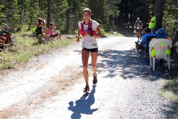 Stephanie Howe - 2015 Western States 100 - Robinson Flat