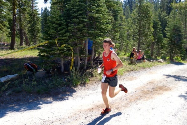 Jared Hazen - 2015 Western States 100 - Robinson Flat