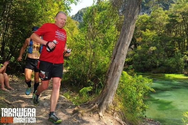 Paul Charteris - Paul running 2015 middle miles