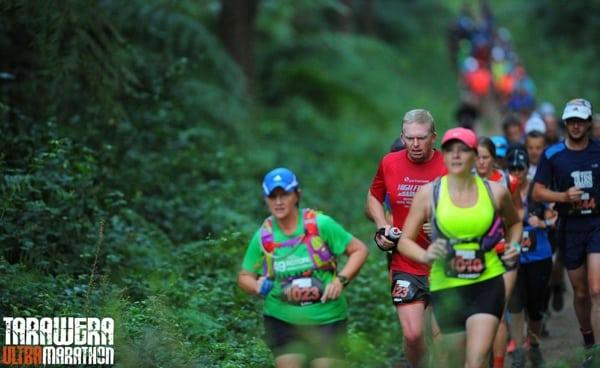 Paul Charteris - Paul running Tarawera in early miles