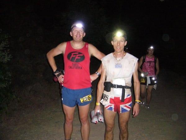 Paul Charteris - Paul pacing Nick Ham WS 100 2006