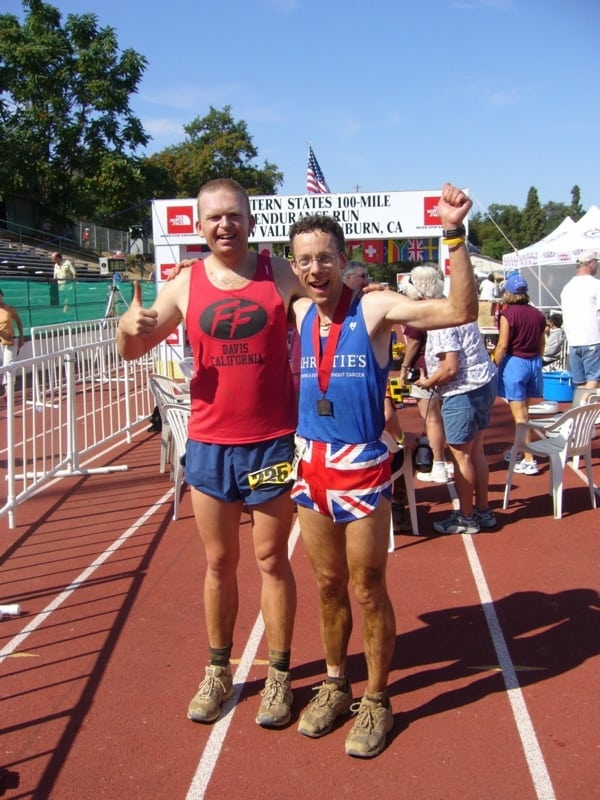 Paul Charteris - Paul and Nick Ham WS 100 finish 2006