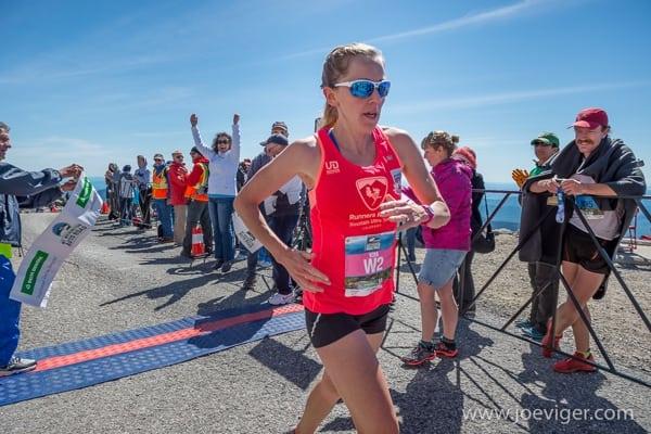 Kim Dobson - 2015 Mt. Washington Road Race champion