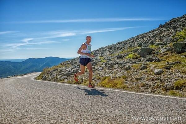 Joe Gray - 2015 Mt. Washington Road Race champion