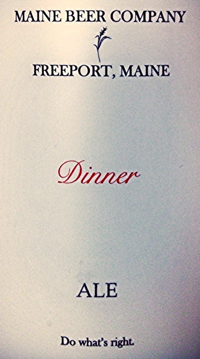 Maine Beer Company Dinner Double IPA