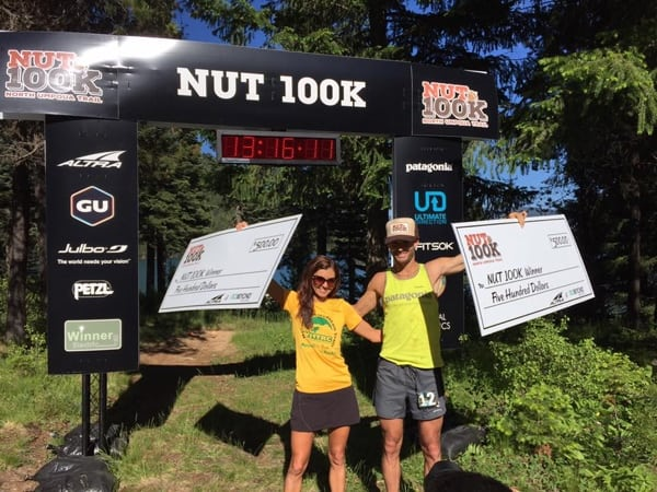 Rod Bien and Janessa Taylor, 2015 The NUT 100k champions