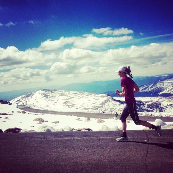 Megan Roche, 2015 Mt. Evans Ascent champion