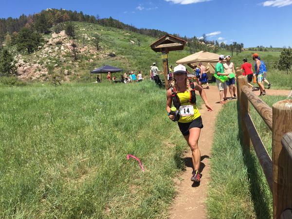 Kerrie Bruxvoort, 2015 Quad Rock 50 Mile Champion