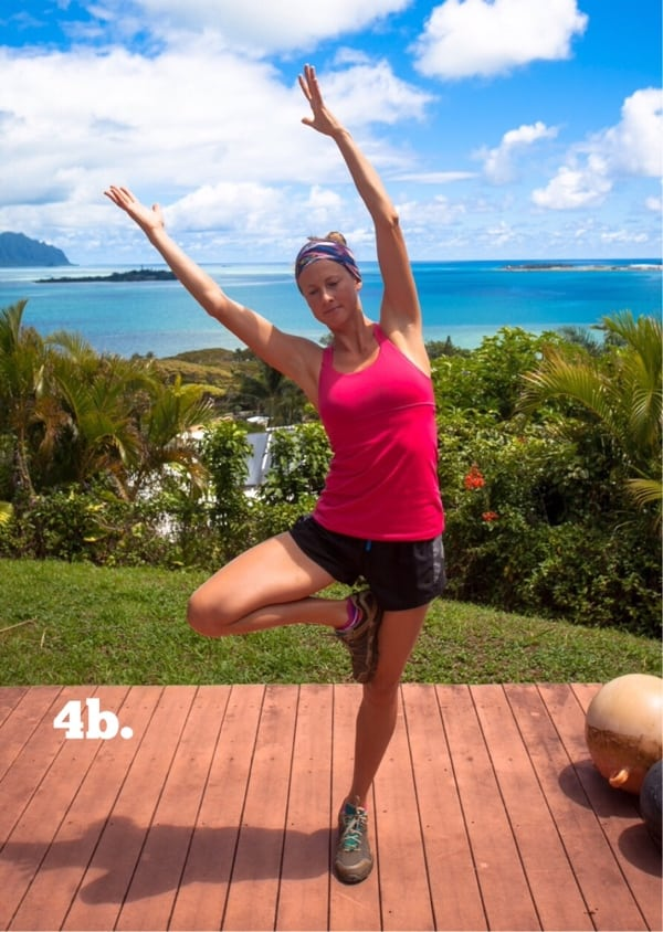 Yoga for Trail Runners - Tree Pose 4b