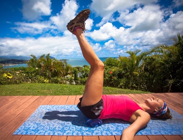 Yoga for Trail Runners - Legs Up the Wall Pose 3