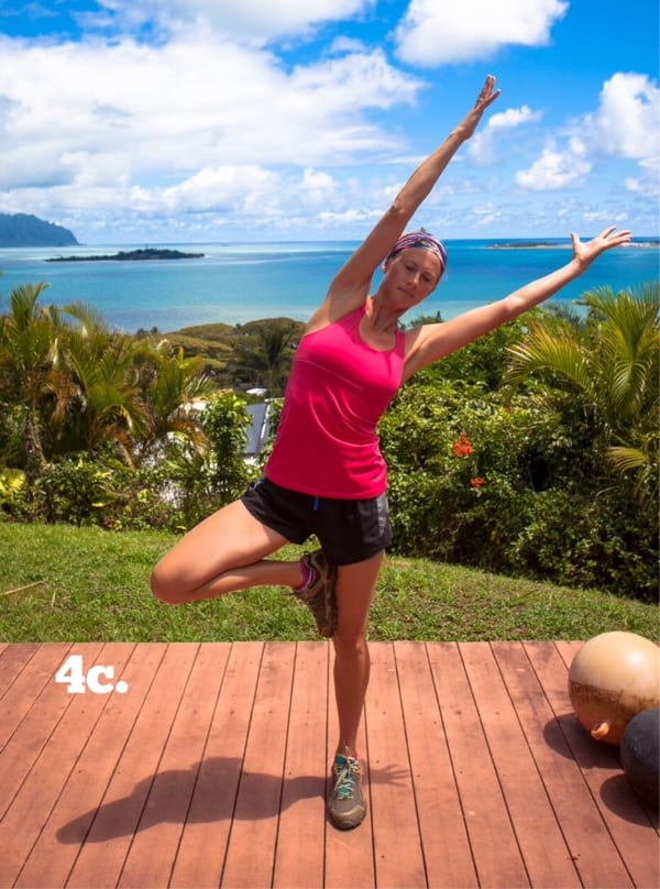 Yoga for Trail Runners - Tree Pose 4c
