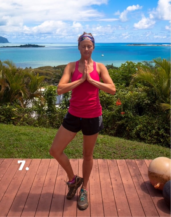 Yoga for Trail Runners - Tree Pose 7