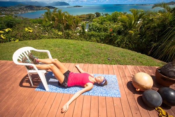 Yoga for Trail Runners - Legs Up the Wall Pose