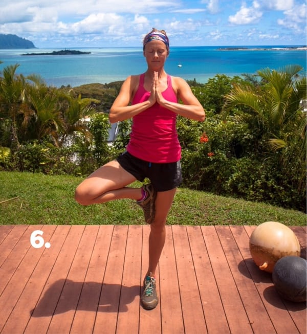 Yoga for Trail Runners - Tree Pose 6