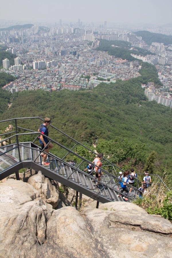 Korea trail running clinic 1