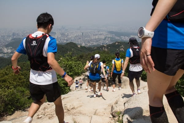 Korea trail running clinic 2